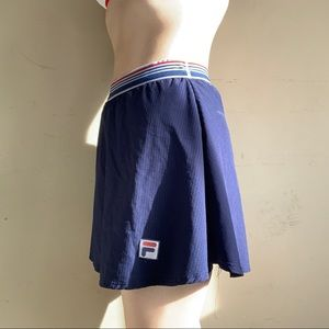 Fila Shorts - Athletic Fila Blue Skort